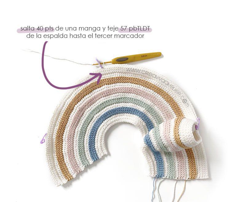 Cómo tejer la Chaqueta de crochet GINGER de bebé - Patrón y Tutorial -