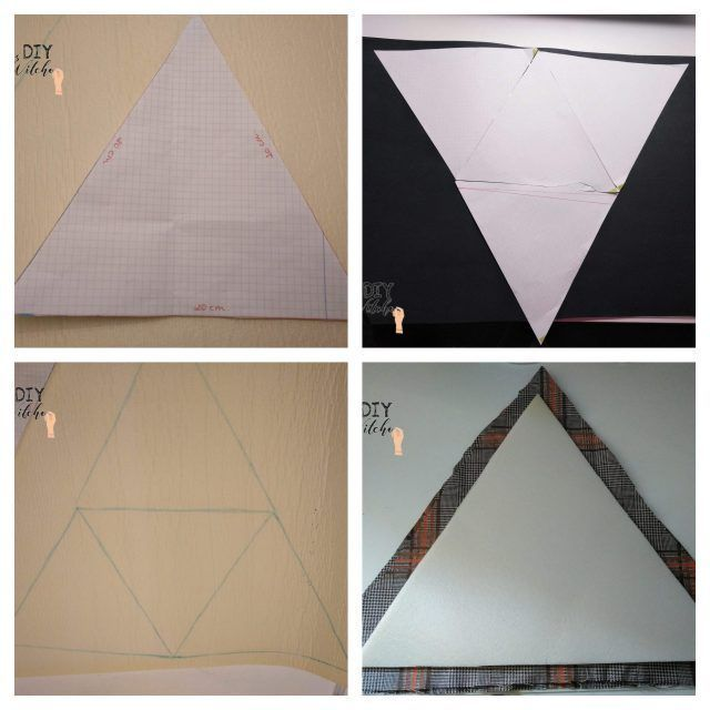 bolso triangular
