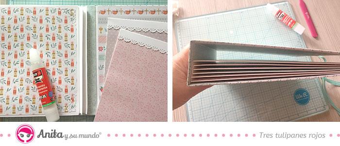 como hacer bolsillos de papel