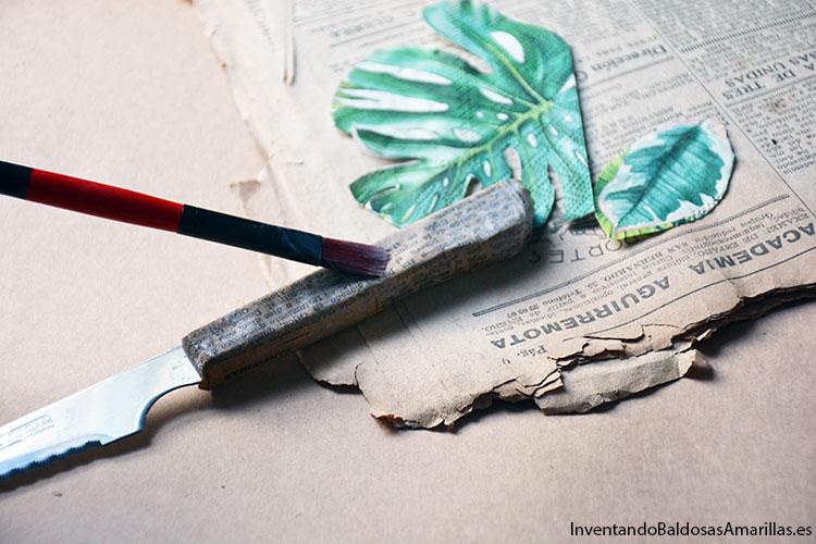 decorar-cubiertos-papel