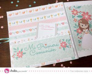 libro dedicatorias con tarjetas