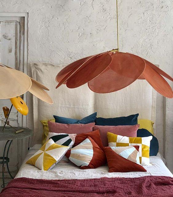 Objeto_decorativo_Lámpara_pétalos_decoración_inspiración_dormitorio-11