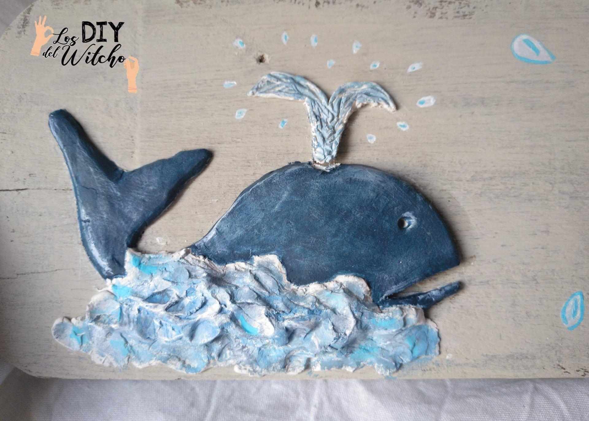 decoracion veraniega ballena