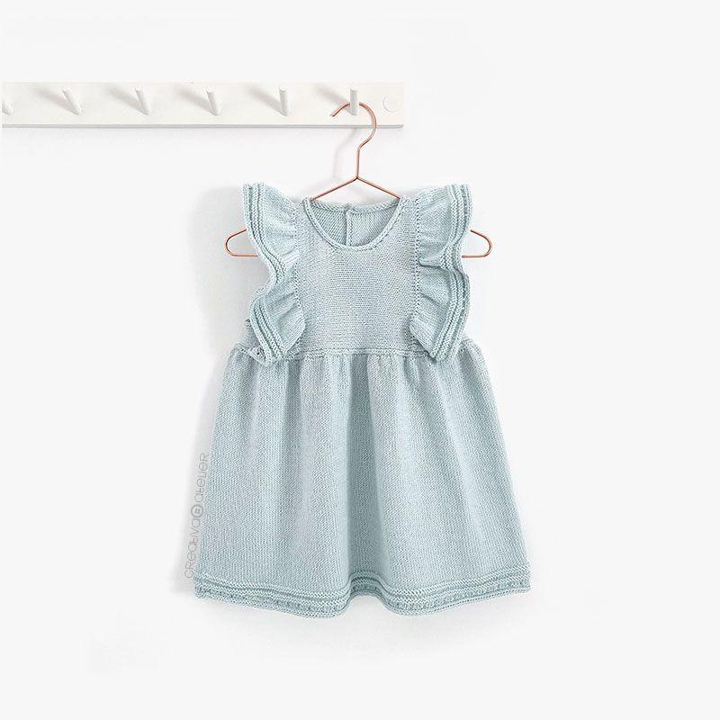 Cómo tejer el Vestido de Punto SEASIDE - Patrón y Tutorial -