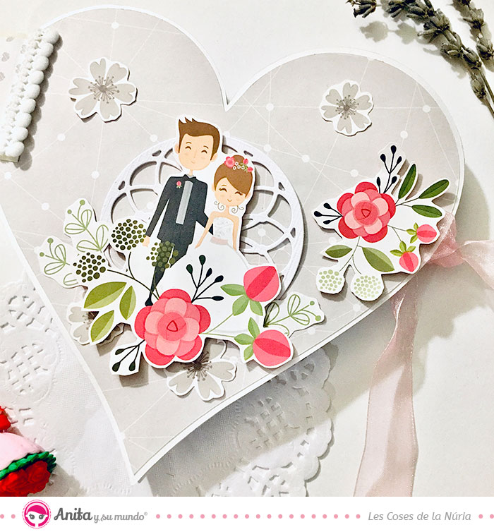 como decorar portada album boda personalizado