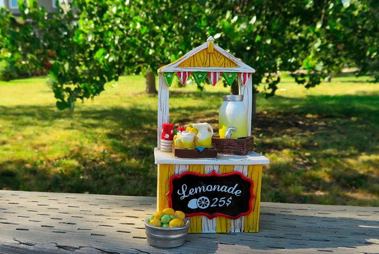 Como crear un singular puesto de limonada