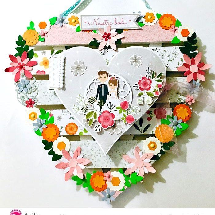 Cómo hacer un regalo de bodas personalizado: Marco y álbum