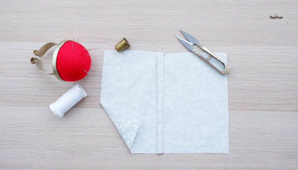 Como hacer la costura francesa por Living in Flipflops
