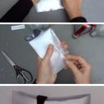 Cómo hacer una caja pillow box con una botella de plástico