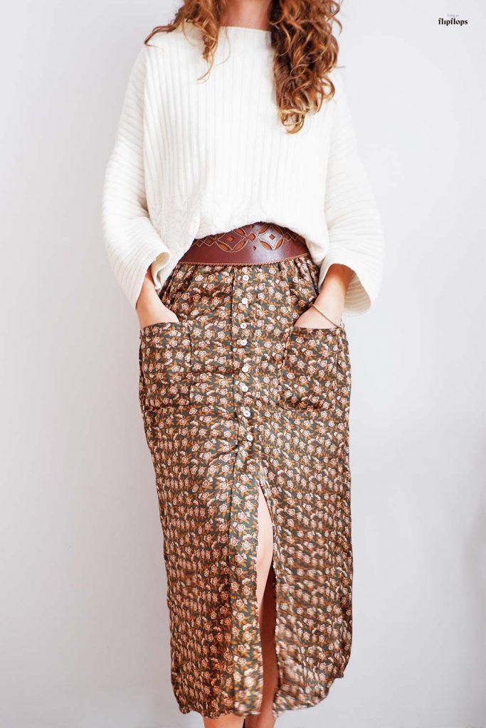 patron de costura pdf falda Fenix