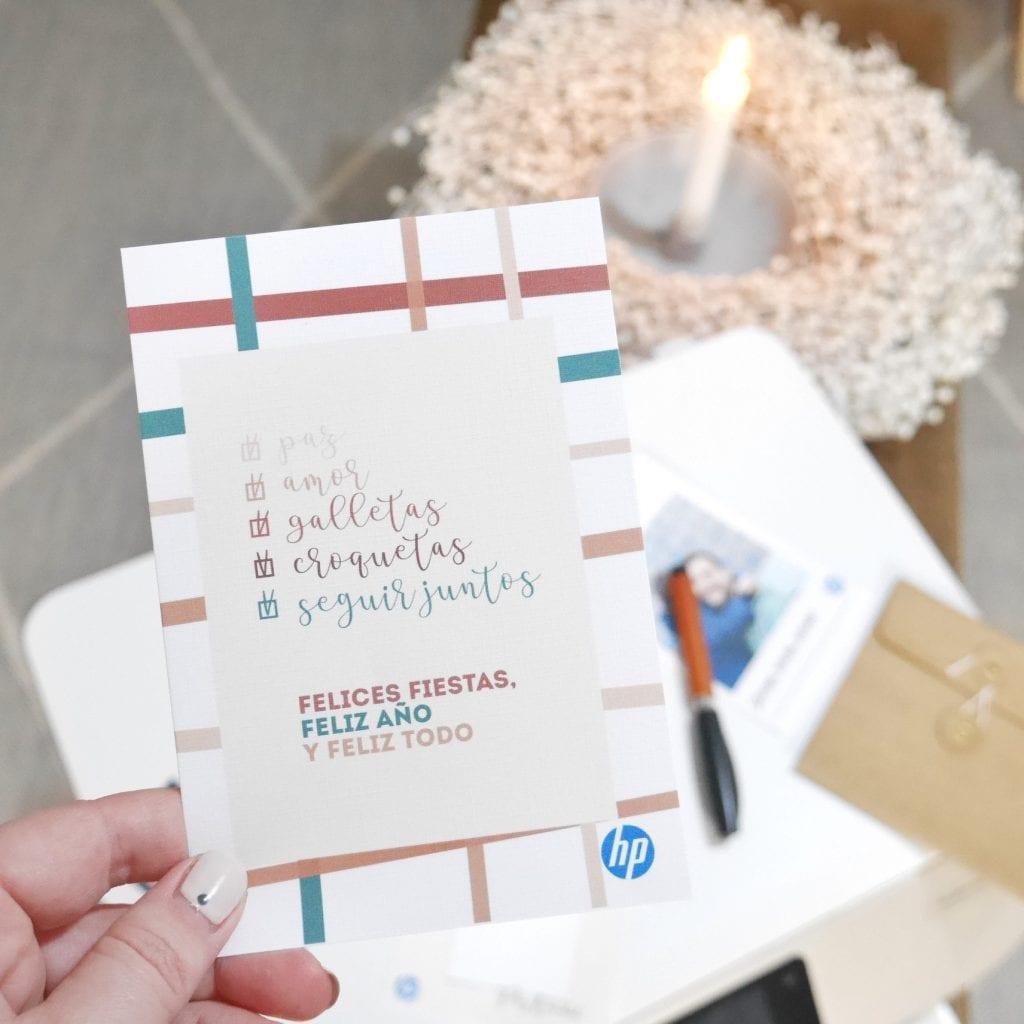 postal navideña anthologie