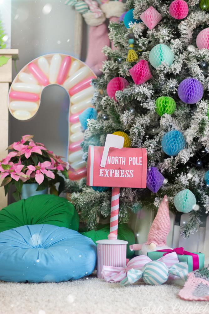 decoracion navidad diferente original