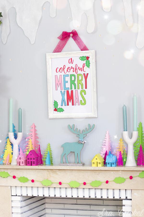 decoracion navidad en colores