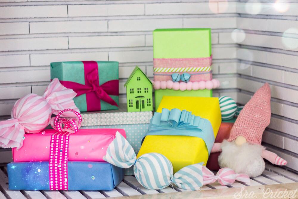 decoracion de navidad multicolor