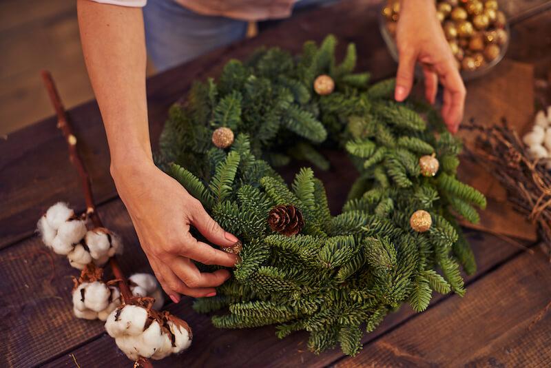 plantas naturales para decorar en Navidad