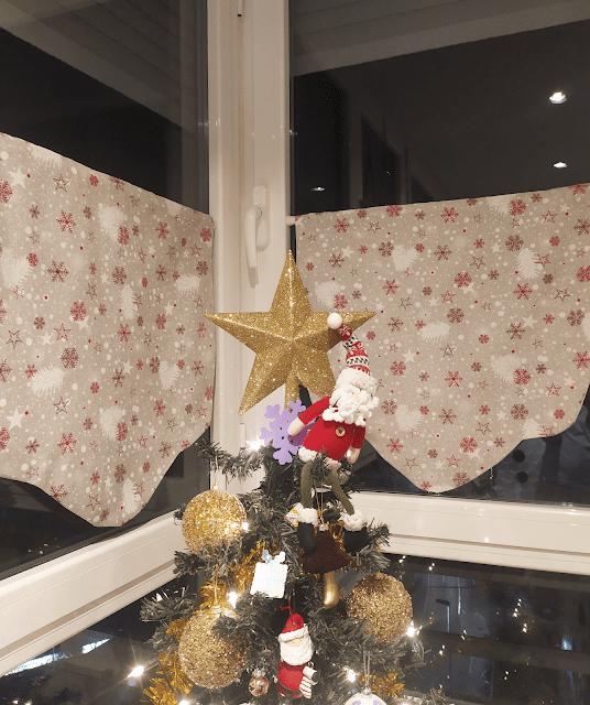 visillos navideños