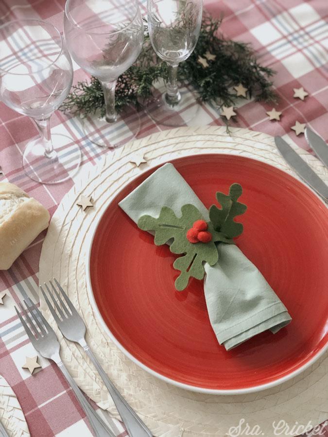 servilletero de navidad facil de hacer