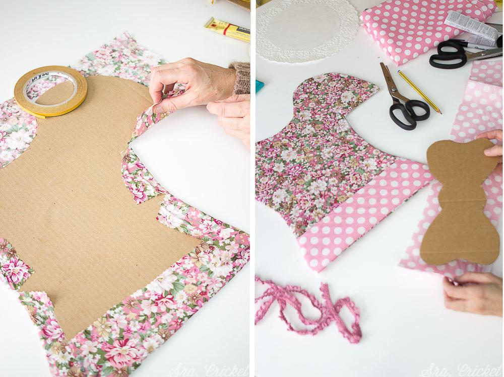 como hacer un disfraz de muñeca recortable