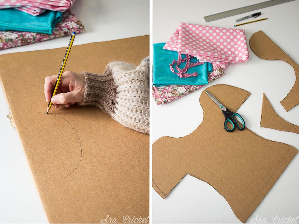 hacer un disfraz con carton