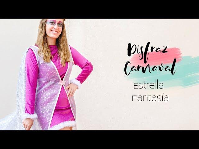Como hacer DISFRAZ FANTASIA para CARNAVAL| DIY | Lorena Gil
