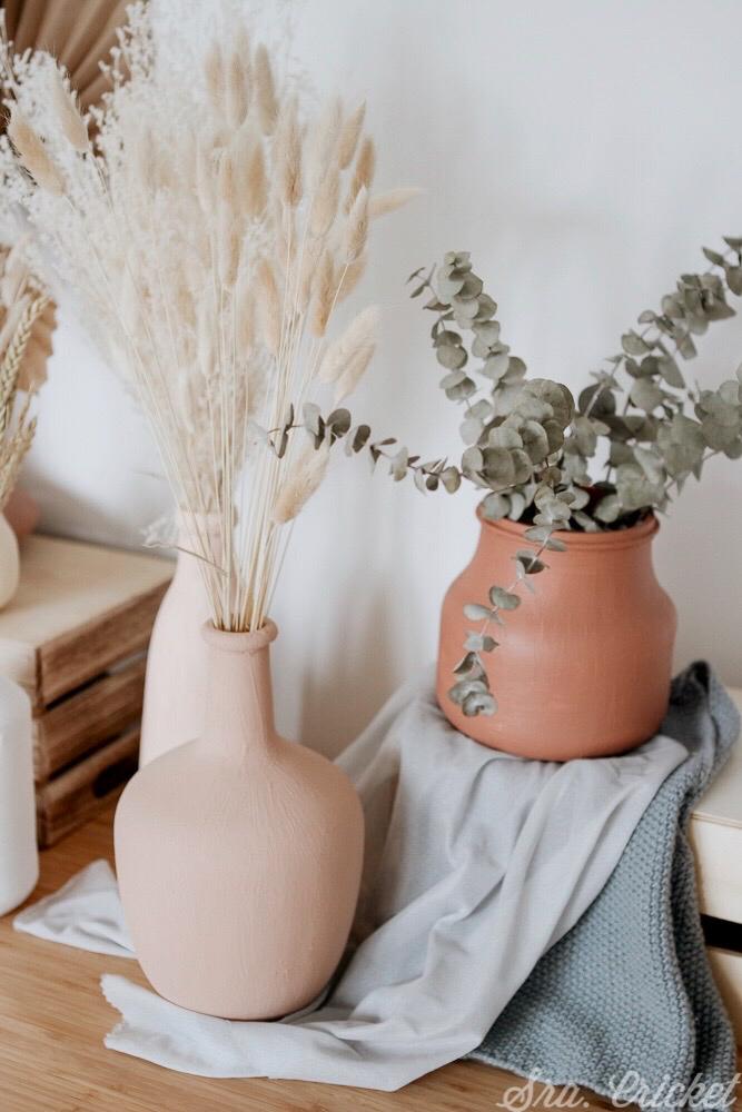 jarrones de barro decoracion tendencia hogar
