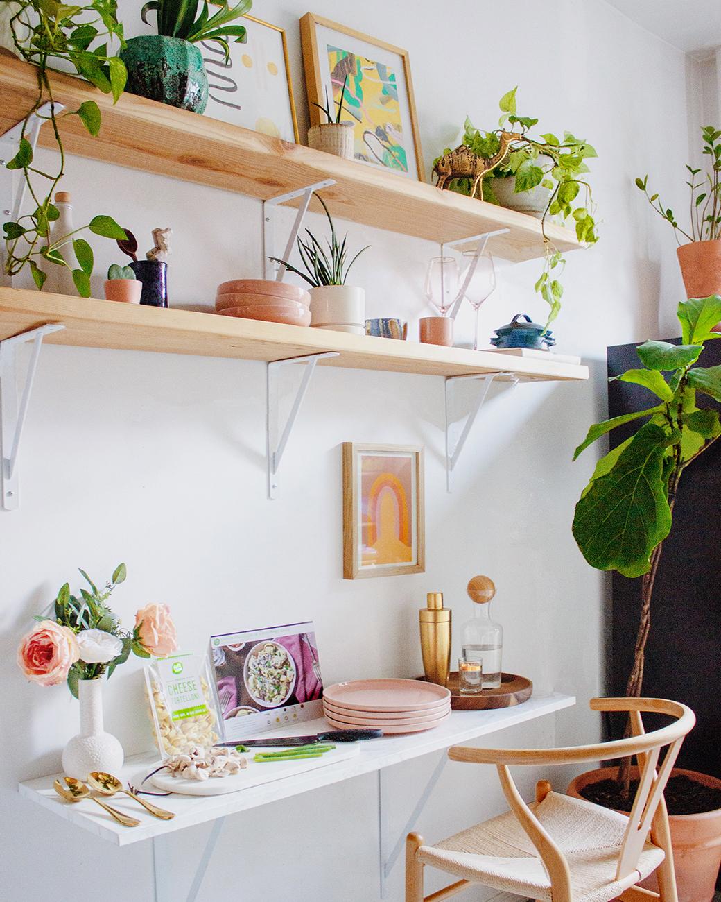 Cómo hacer un escritorio pequeño
