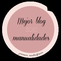 Mejor blog de manualidades Madresfera 2015