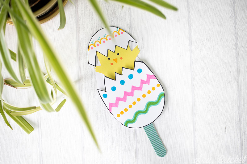 manualidades de pascua para niños huevo de pascua articulado