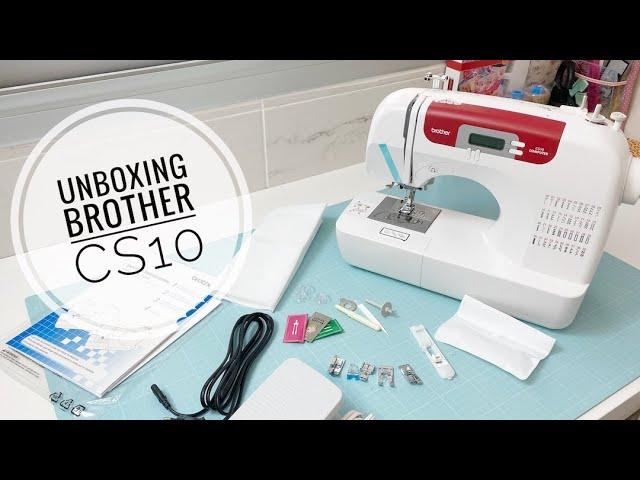 Unboxing máquina de coser Brother CS10