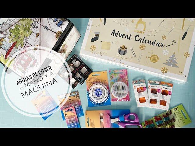 Agujas de coser a mano y a máquina | Costurero y Calendario de Adviento