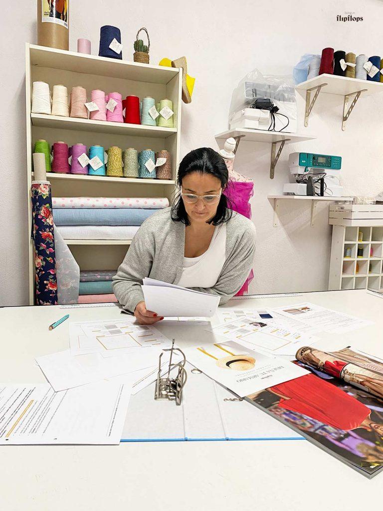 como organizar proyectos de costura