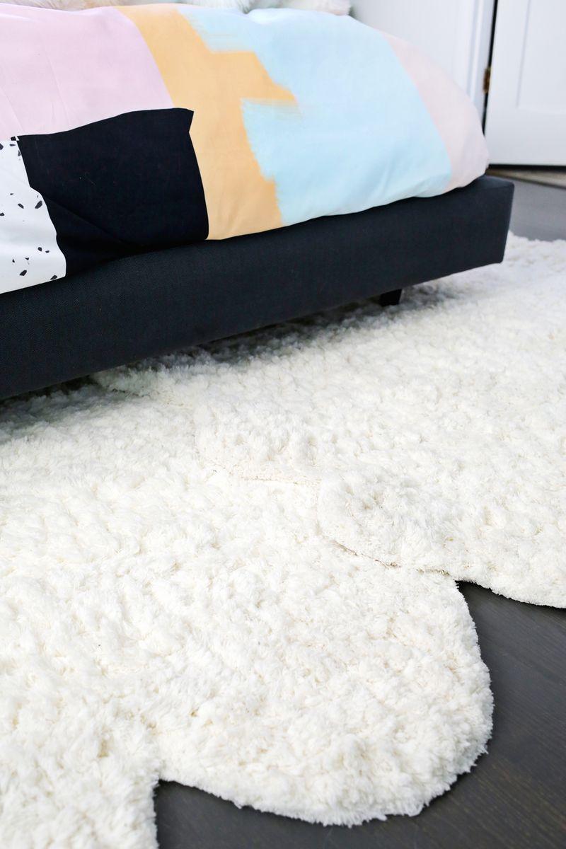 DIY para unir dos alfombras pequeñas