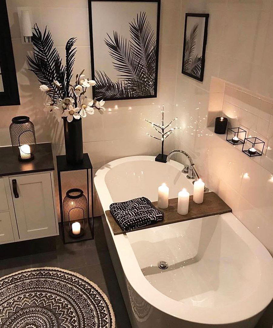 Transforma tu baño en un spa en casa