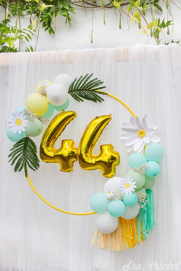 aro de globos decoracion de fiestas