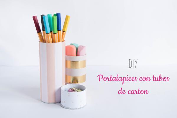 diy-portalapices-escritorio-tubos-carton