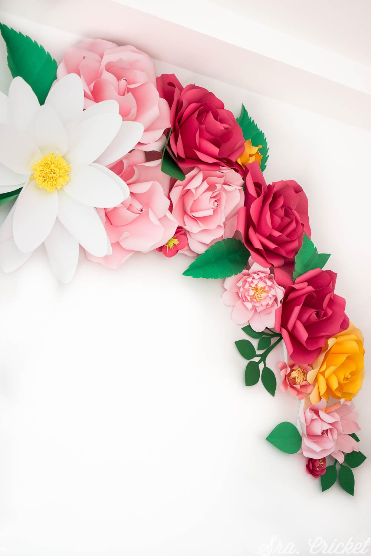 flores de papel tutorial manualidades