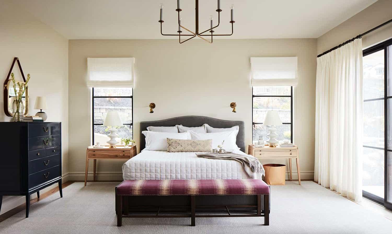 Dormitorio rústico moderno