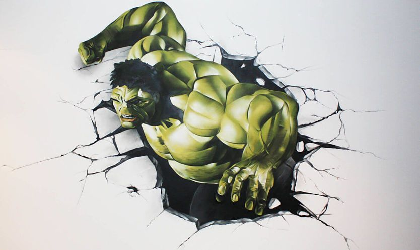 Grafitis y lienzos por encargo juveniles