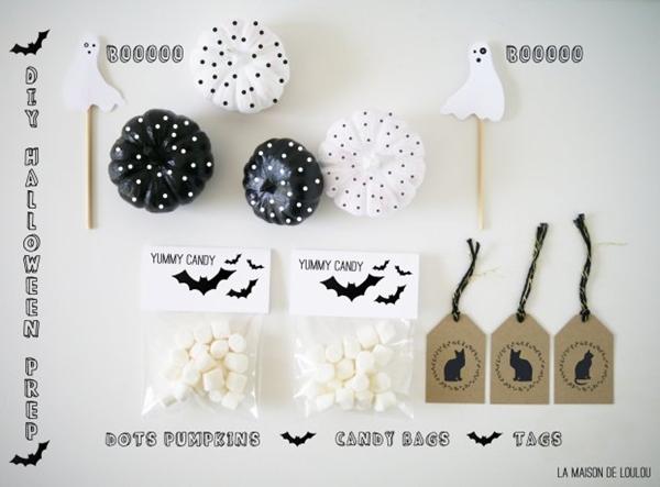 Decoración de Halloween diferente