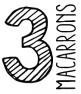 Nitdia · 3 Macarrons
